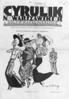 Cyrulik Warszawski, 1926, R. 1, nr 4