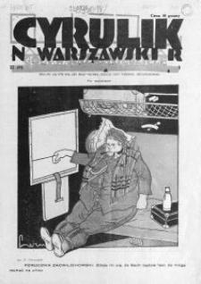 Cyrulik Warszawski, 1928, R. 3, nr 11