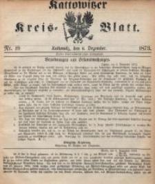 Kattowitzer Kreisblatt, 1873, nr19