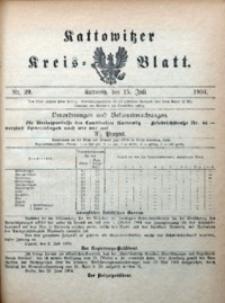 Kattowitzer Kreisblatt, 1904, nr29
