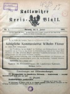 Kattowitzer Kreisblatt, 1905, nr1