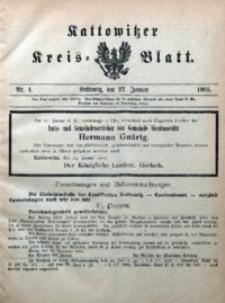 Kattowitzer Kreisblatt, 1905, nr4