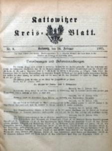 Kattowitzer Kreisblatt, 1905, nr8