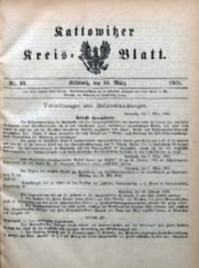 Kattowitzer Kreisblatt, 1905, nr10