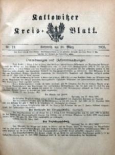 Kattowitzer Kreisblatt, 1905, nr12