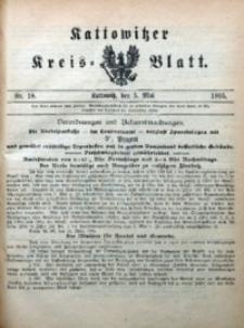 Kattowitzer Kreisblatt, 1905, nr18