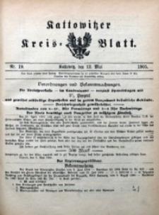 Kattowitzer Kreisblatt, 1905, nr19