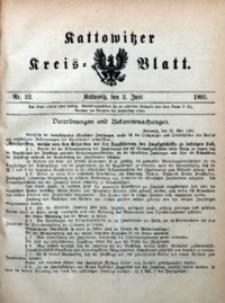 Kattowitzer Kreisblatt, 1905, nr22