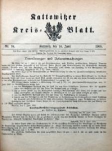 Kattowitzer Kreisblatt, 1905, nr24