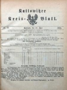 Kattowitzer Kreisblatt, 1905, nr26