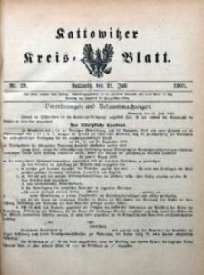 Kattowitzer Kreisblatt, 1905, nr29