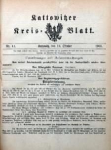 Kattowitzer Kreisblatt, 1905, nr41