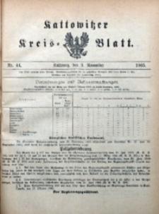 Kattowitzer Kreisblatt, 1905, nr44