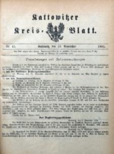 Kattowitzer Kreisblatt, 1905, nr45