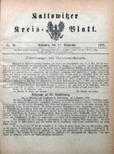 Kattowitzer Kreisblatt, 1905, nr46