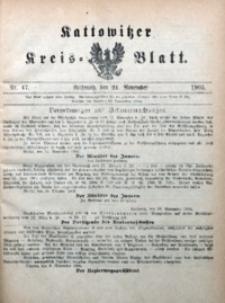 Kattowitzer Kreisblatt, 1905, nr47