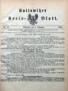 Kattowitzer Kreisblatt, 1905, nr49