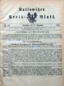 Kattowitzer Kreisblatt, 1905, nr50