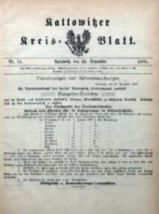 Kattowitzer Kreisblatt, 1905, nr51