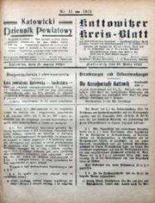 Kattowitzer Kreisblatt, 1922, nr11