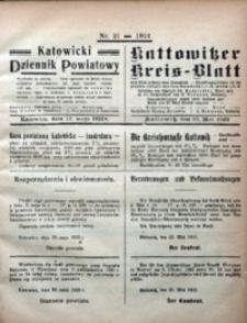 Kattowitzer Kreisblatt, 1922, nr21