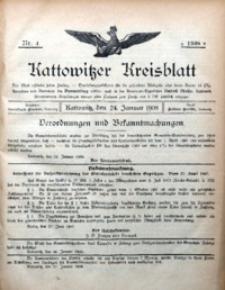 Kattowitzer Kreisblatt, 1908, Nr.4