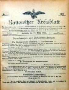 Kattowitzer Kreisblatt, 1917, nr11