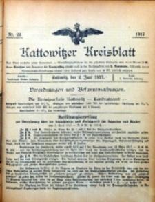 Kattowitzer Kreisblatt, 1917, nr22