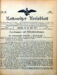 Kattowitzer Kreisblatt, 1917, nr26