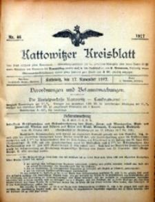 Kattowitzer Kreisblatt, 1917, nr46