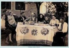 Taurów. Uroczystości rodzinne, lata 30-te XX wieku.