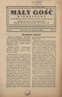 Mały Gość Niedzielny, 1931, R. 6, nr 2