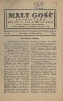 Mały Gość Niedzielny, 1930, R. 4, nr 6