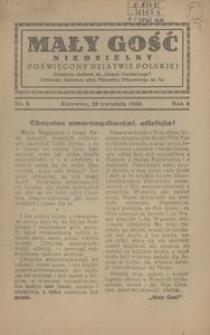 Mały Gość Niedzielny, 1930, R. 4, nr 9