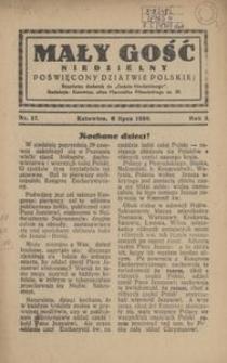 Mały Gość Niedzielny, 1930, R. 4, nr 17