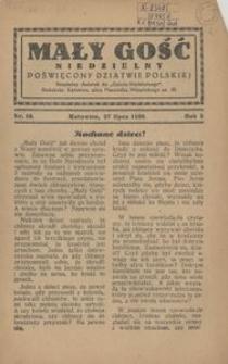 Mały Gość Niedzielny, 1930, R. 4, nr 18