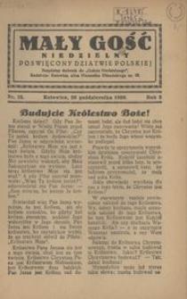 Mały Gość Niedzielny, 1930, R. 4, nr 25