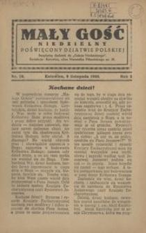 Mały Gość Niedzielny, 1930, R. 4, nr 26