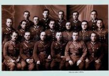 Kołomyja. Kurs przeszkolenia oficerów rezerwy 11 Karpackiej Dywizji Piechoty przy 49 Huculskim Pułku Strzelców.