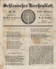 Schlesisches Kirchenblatt, 1840, Jg. 6, nr 13