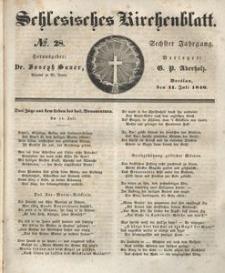 Schlesisches Kirchenblatt, 1840, Jg. 6, nr 28