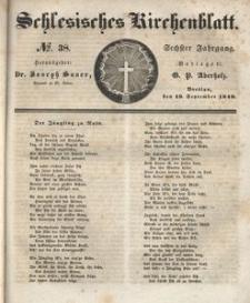 Schlesisches Kirchenblatt, 1840, Jg. 6, nr 38