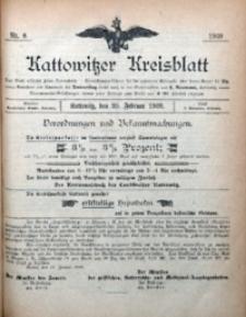 Kattowitzer Kreisblatt, 1909, nr8