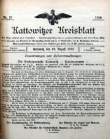 Kattowitzer Kreisblatt, 1918, nr32