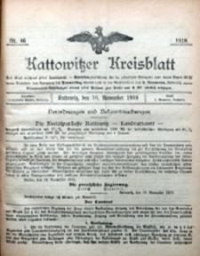 Kattowitzer Kreisblatt, 1918, nr46