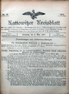 Kattowitzer Kreisblatt, 1919, nr18