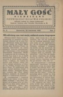 Mały Gość Niedzielny, 1932, R. 7, nr 9