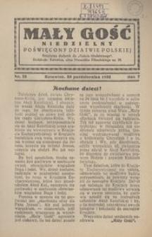 Mały Gość Niedzielny, 1932, R. 7, nr 25