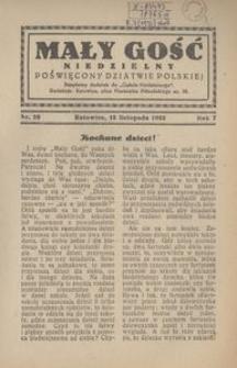 Mały Gość Niedzielny, 1932, R. 7, nr 26