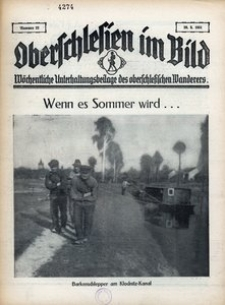 Oberschlesien im Bild, 1931, nr 22